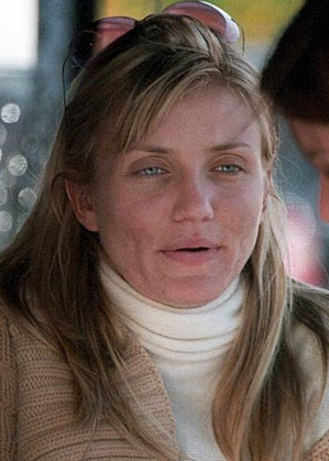 Cameron Diaz Without Makeup Picture