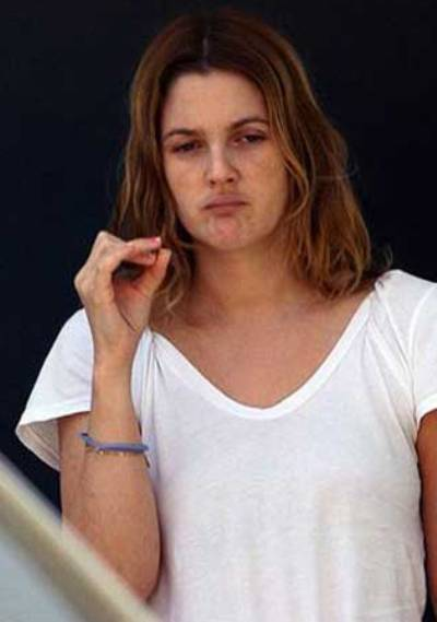 Drew Barrymore No Makeup