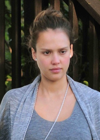 Jessica Alba Without Makeup Picture