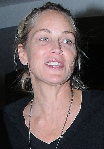 Sharon Stone No Makeup