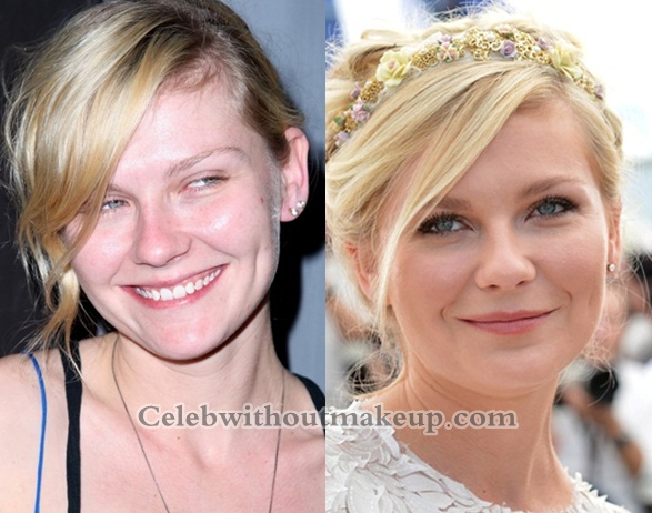 Kirsten Dunst Without Makeup