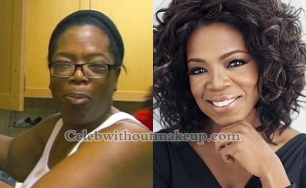 Oprah Without Makeup