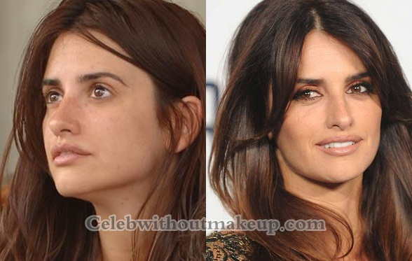 Penelope Cruz Without Makeup