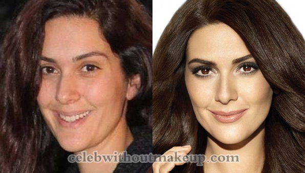 Bergüzar Korel Without Makeup
