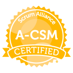 A-CSM Scrum Alliance Badge
