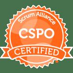 CSPO Scrum Alliance Badge