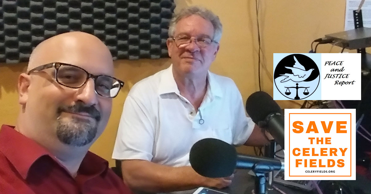 Tom Matrullo & David Johnson on the Peace & Justice Report