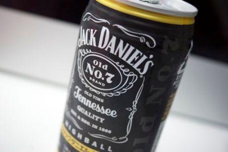 JACK DANIEL'Sのハイボール
