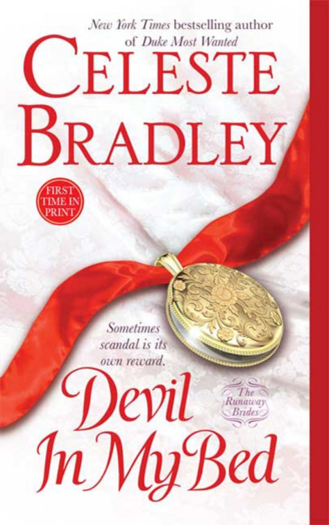 Devil in My Bed - The Runaway Brides - Book 1 - Cover