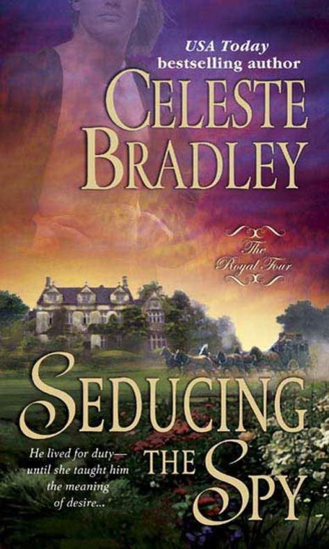 Seducing the Spy - The Royal Four - Book 3 - Cover
