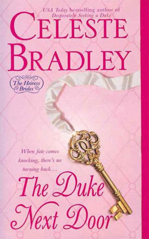 The Duke Next Door - The Heiress Brides - Book 2 - Cover