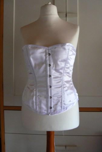 corset strass swarovski