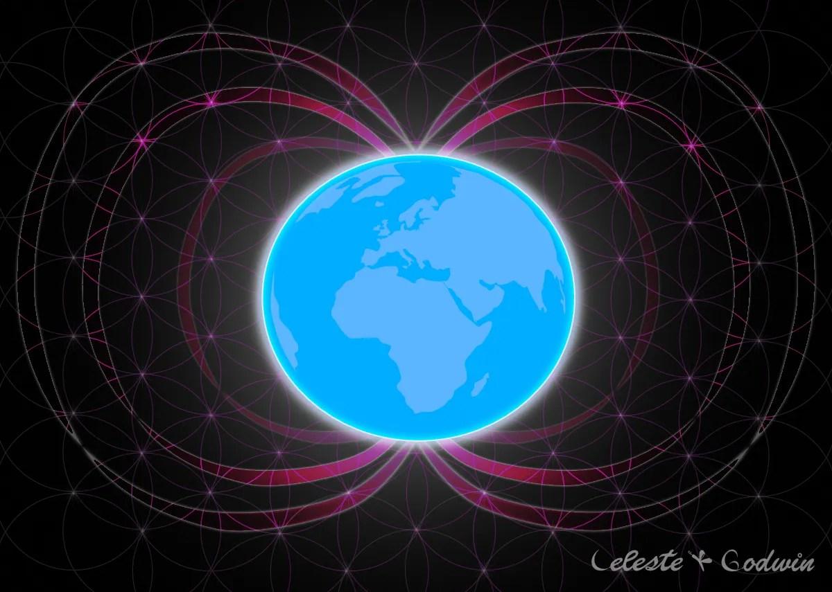 Legătura sacră OM - Plante - Planeta Pământ - Univers