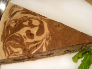 tort raw vegan cerry-vanilla