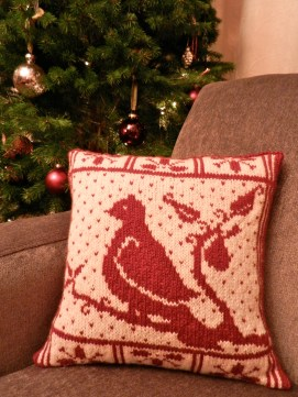 Partridge Holiday Pillow