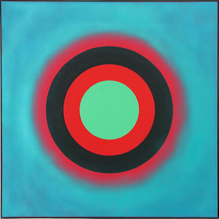 Kenneth Noland red image