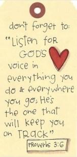 voice of god