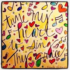 Tune my heart