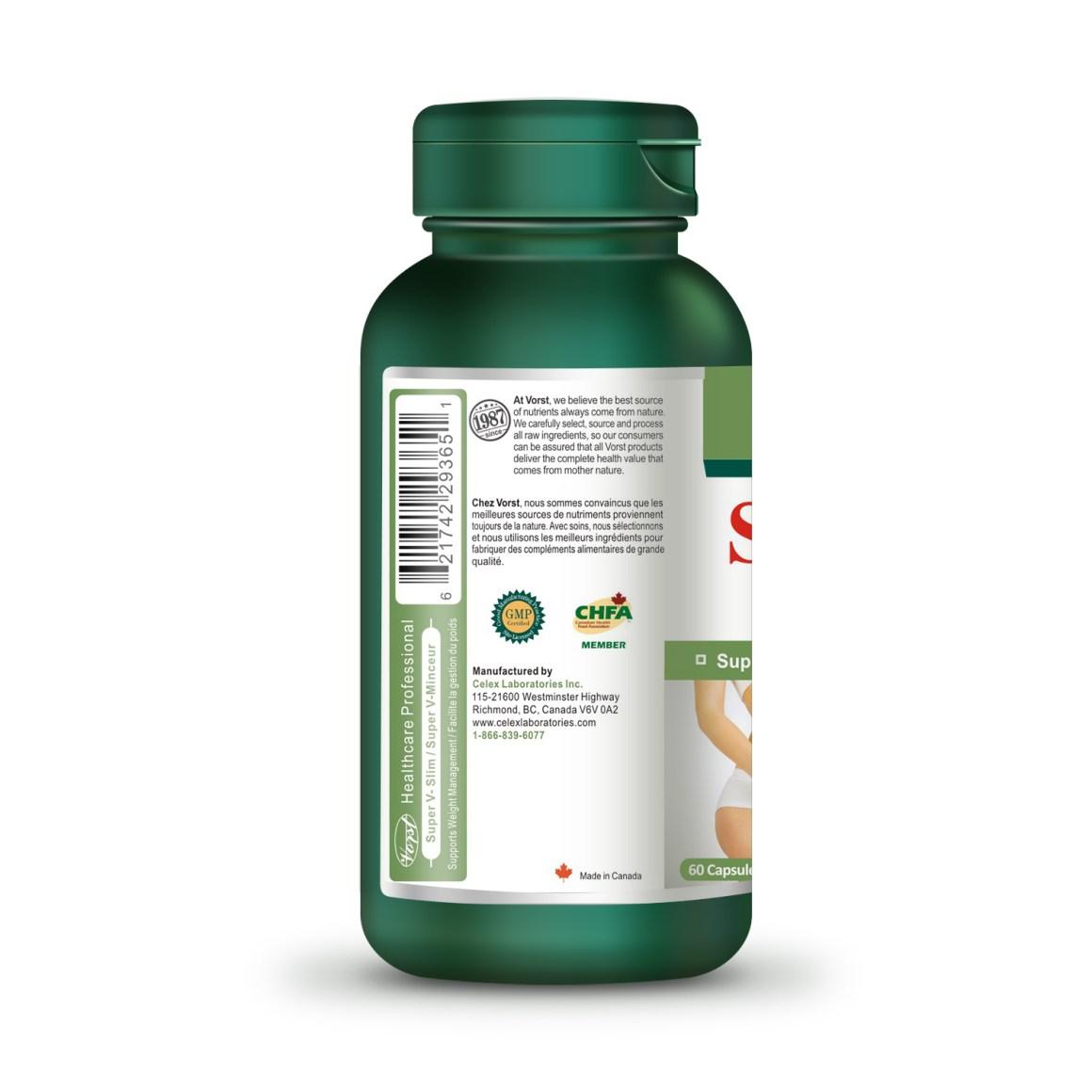 Super V Slim Celex Laboratories Inc Dietary Supplements