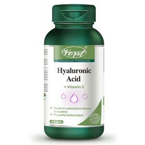 Hyaluronic Acid 75mg with Vitamin C 60 Capsules