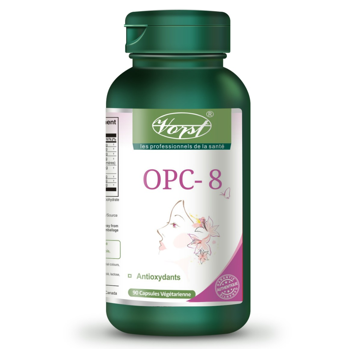 OPC-8 Bottle Front French