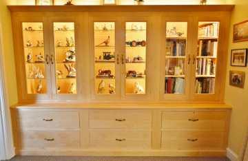 Celfiderw Oakencraft bespoke cabinet 14