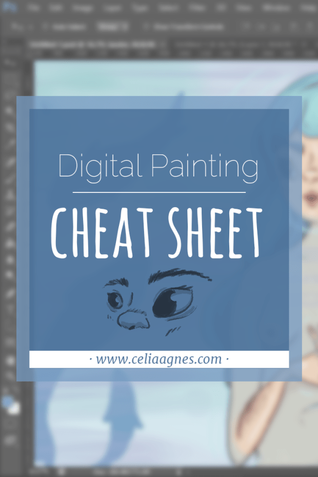 Digital Painting Cheat Sheet