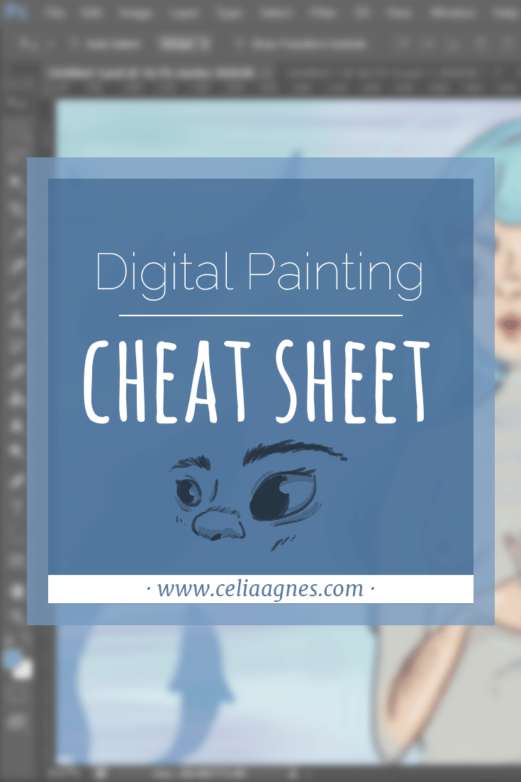Digital Painting Cheat Sheet: Best Digital Painting Tutorials