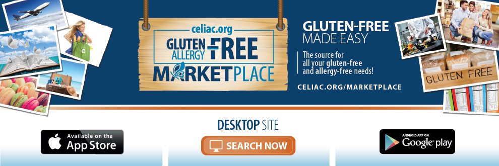 Browse delicious gluten-free options on the CDF Gluten-Free Allergy-Free Marketplace!