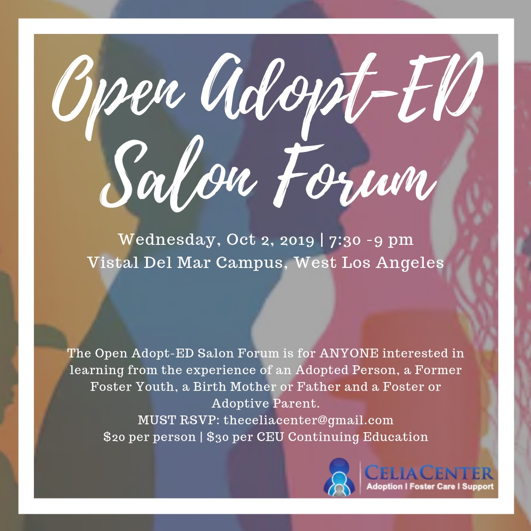 Adopt-Ed Salon Support Group in Los Angeles with Jeanette Yoffe