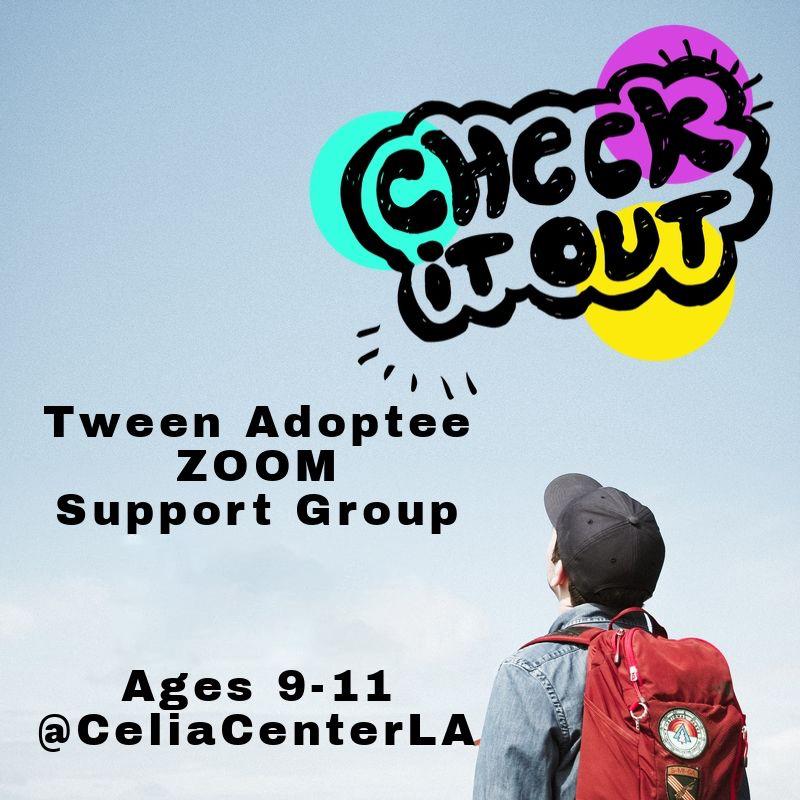Tween Adoptee ZOOM Support Group