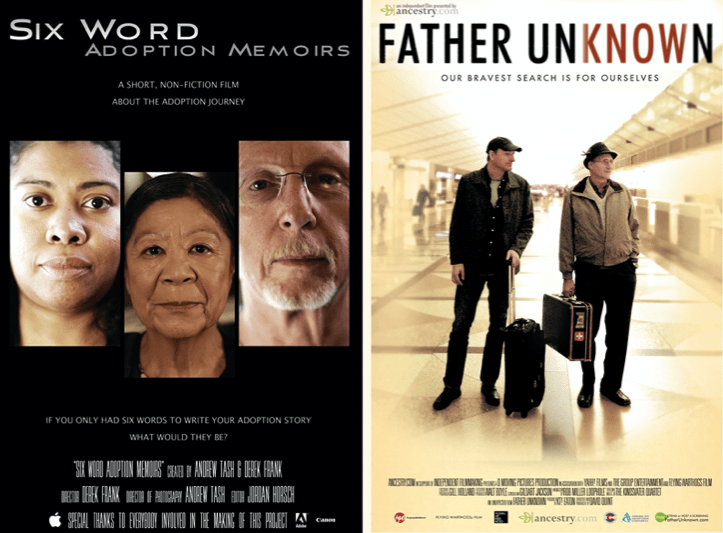 FATHER UNKNOWN | 6 WORD ADOPTION MEMOIRS Movie #Premieres Q&A with Film Director David Quint