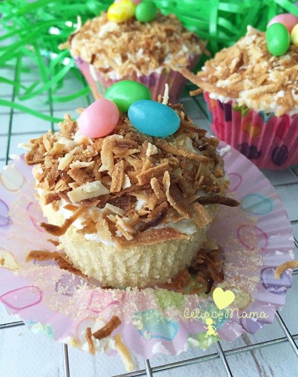 gluten-free-nest-coconut-cupcakes