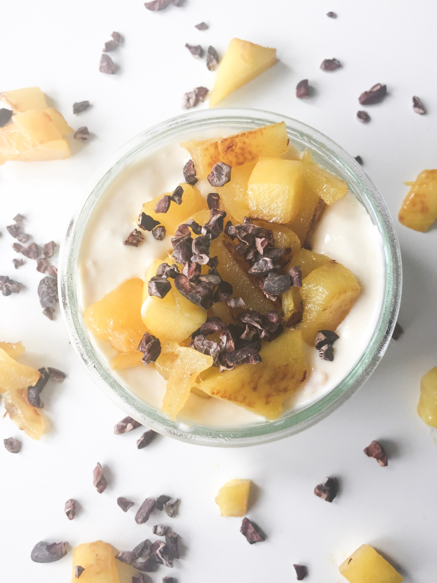 Strained Peach & Mango Yogurt