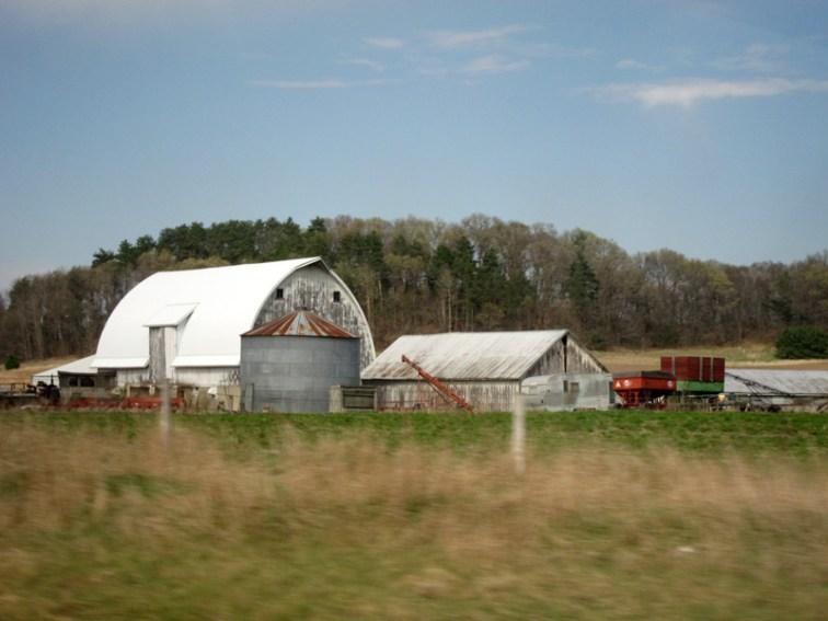 Outbuildings and farm equipment © 2013 Celia Her City