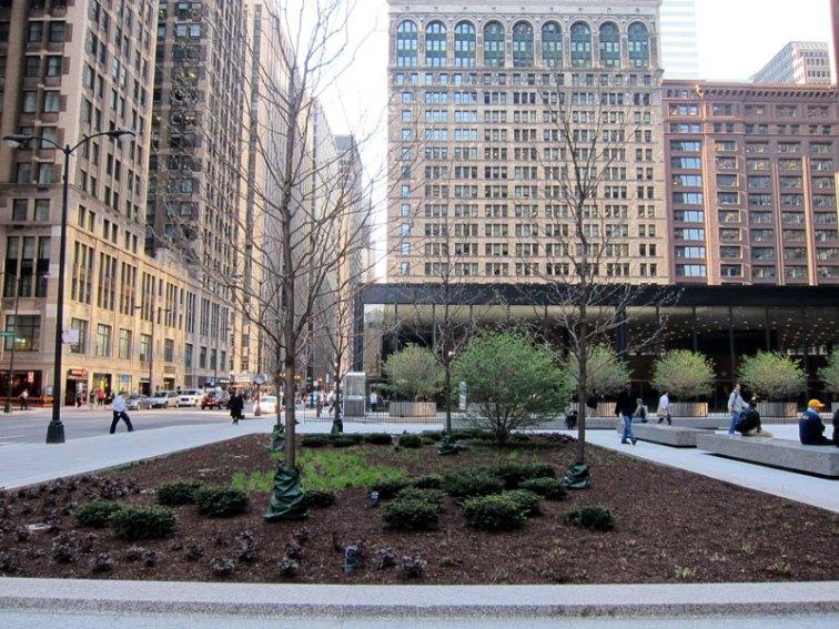 Federal Plaza Vista (Spring), Chicago © 2013 Celia Her City