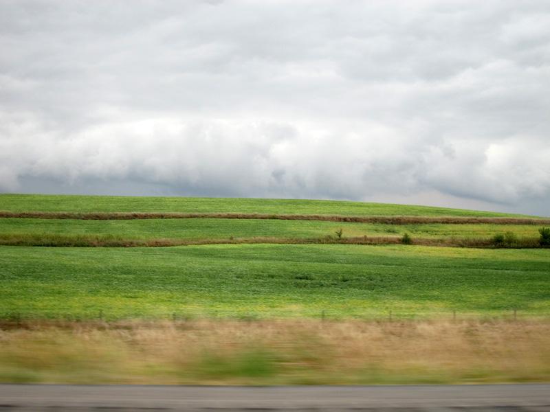A landscape worthy of Georgia O'Keeffe