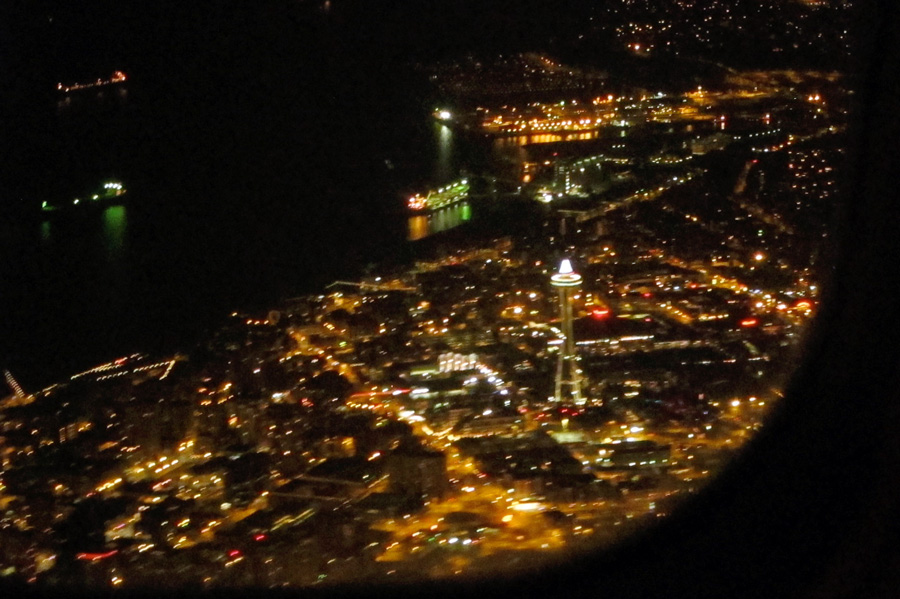 Seattle aerial, © 2013 Celia Her City