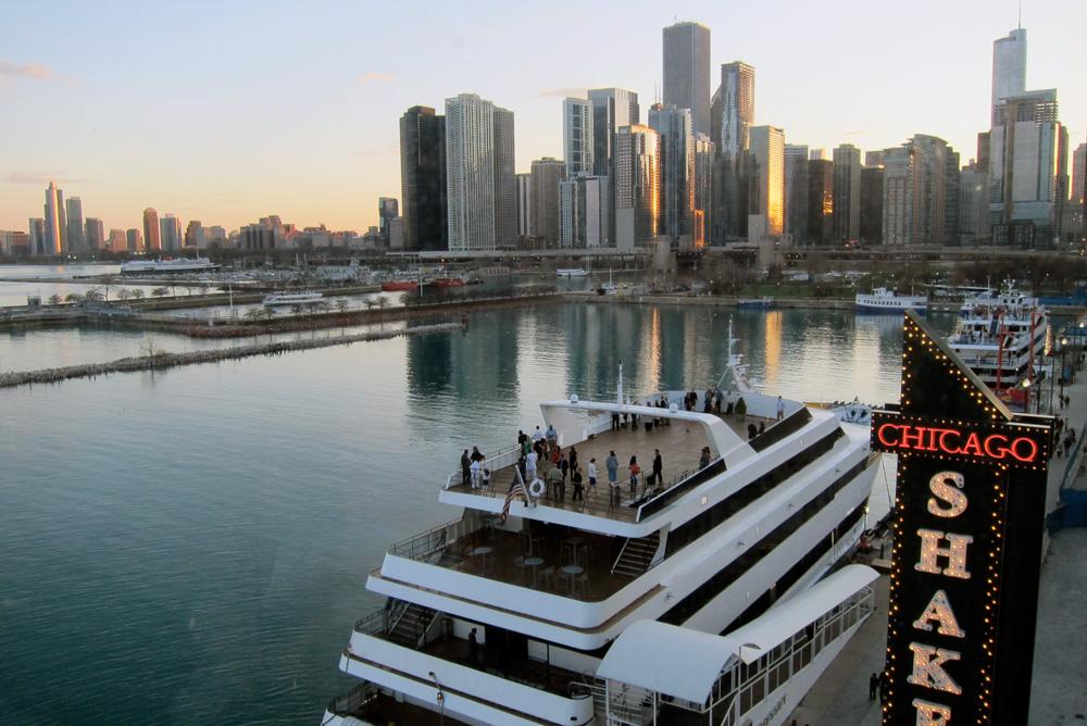 Chicago shakes, © 2014 Celia Her City