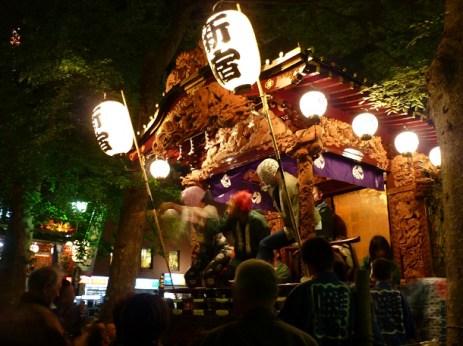 Musical & Theatrical Float @ Kurayami Matsuri, Tokyo