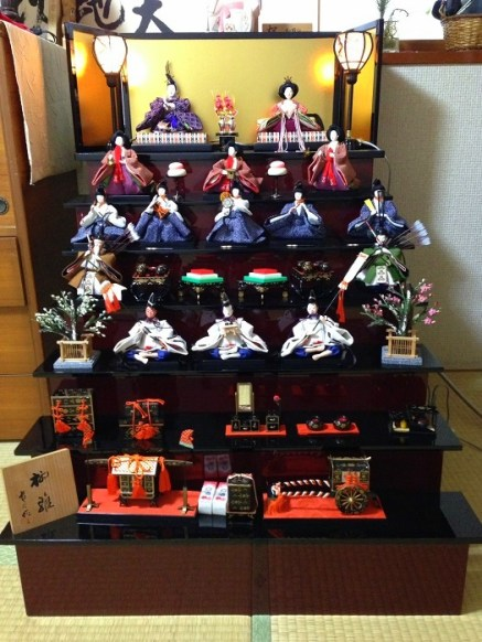 7-tier Doll display