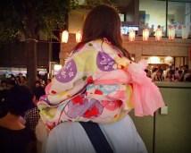 Colourful kids yukata