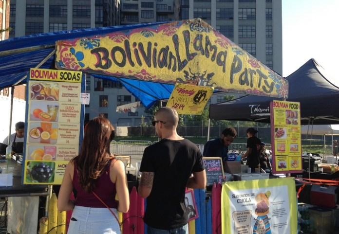 Bolivian food @ Brooklyn Bridge Smorgasburg
