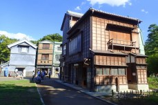"""Behind the """"Yamayota Store"""" grocery store, built 1928"""