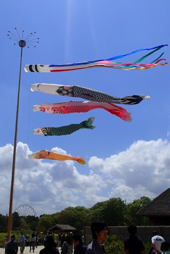 Koinobori for Children's Day