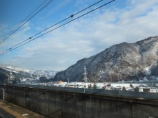 Niigata from the shinkansen