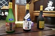Award-winning sake