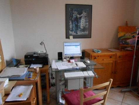 Celia's writing room
