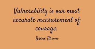 daring vulnerability