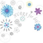 bursdagskort i blomster til dugnad dugnadskort